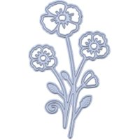 Flowers Cutting Die DIY Metal Stencil for Scrapbook Embossing Paper Craft